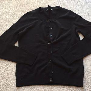 Black cardigan sweater, Banana Republic, S